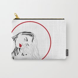 Circle Girl Carry-All Pouch