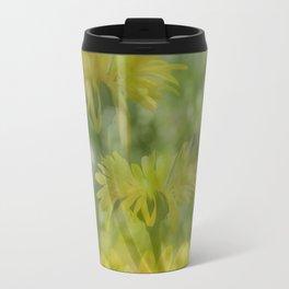 Layered Wildflowers Travel Mug