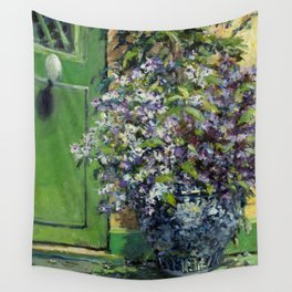 Monet's Entry — Giverny, France Wall Tapestry
