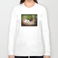 wonder Long Sleeve T-shirts featuring WONDER by TheCore