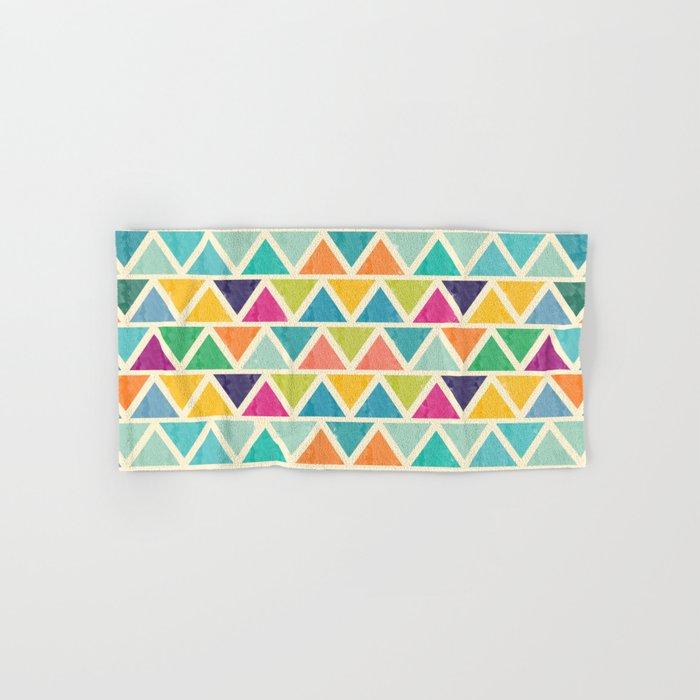 Lovely geometric Pattern II Hand & Bath Towel