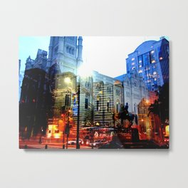 linear city Metal Print