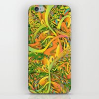 pineapple iPhone & iPod Skins featuring Pineapple by Danny Ivan
