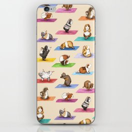 The Yoguineas - Yoga Guinea Pigs - Namast-hay! iPhone Skin