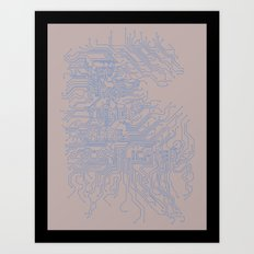 Let's Make Things More Complicated. Art Print