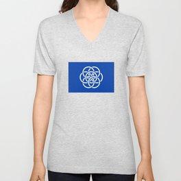 International Flag of Planet Earth Unisex V-Neck