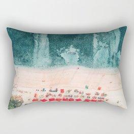 Beach sky view Rectangular Pillow
