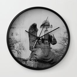 Angel. Novodevichy convent. Moscow. Wall Clock
