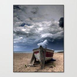 Una barca Canvas Print