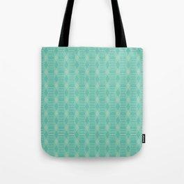 hopscotch-hex sea Tote Bag