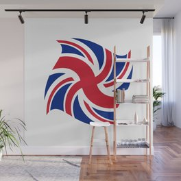 Flag of UK 16- London,united kingdom,england,english,british,great britain,Glasgow,scotland,wales Wall Mural
