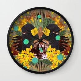 Tigresa Magdalena 2 Wall Clock