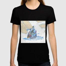 Sailing Ship X T-shirt