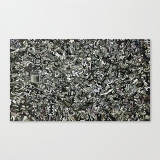 Explosions To Static Canvas Print