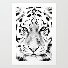 White Tiger Art Prints | Society6