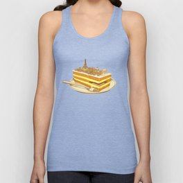 Hungry for Travels: Slice of Paris Unisex Tank Top