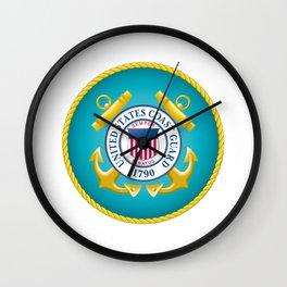 Seal of the United States Coast Guard Wall Clock