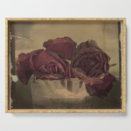 The veins of Roses Serving Tray
