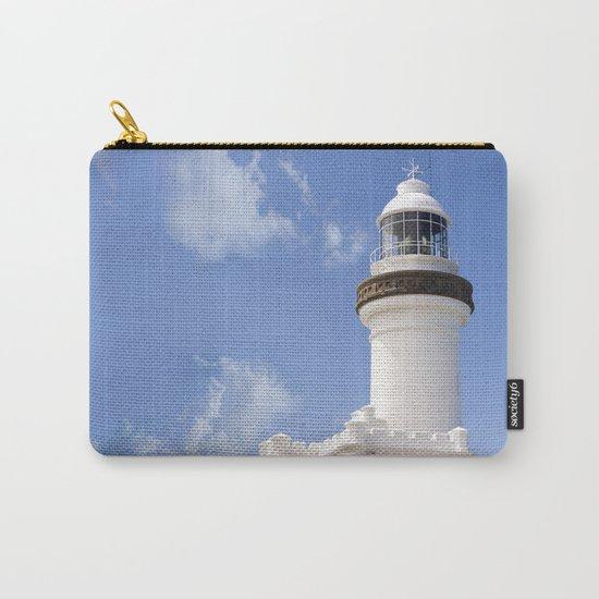 Byron Bay Lighthouse blue Sky Carry-All Pouch