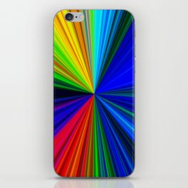 Colours of a Rainbow iPhone Skin