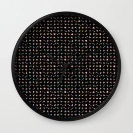 Heroes in the Half Shell (Black) Wall Clock