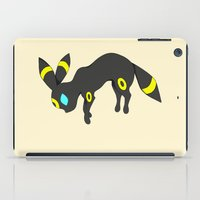eevee iPad Cases featuring Umbreon by Ria Pi