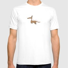 Finally Allowed to Fly Mens Fitted Tee MEDIUM White