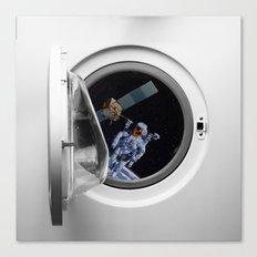 Into the washing mashine Canvas Print
