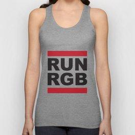 Run RGB Unisex Tank Top