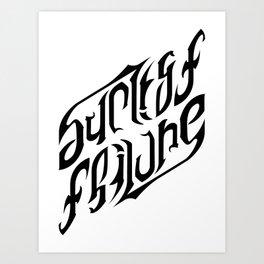 Success / Failure Art Print