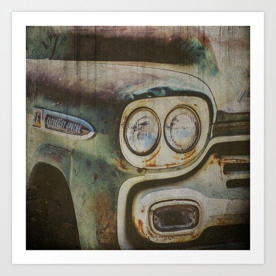 Chevy Apache Art Print