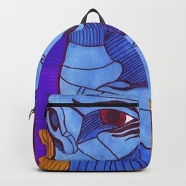 Two fools deal blue Backpack