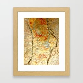 Stone Gold Framed Art Print