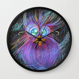 Owls are magic Wall Clock
