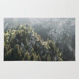 Mountain Lights - Landscape Photography Rug
