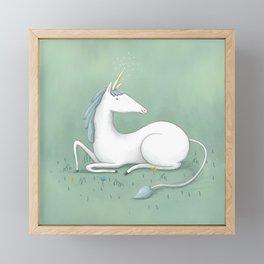 Magical Unicorn Framed Mini Art Print