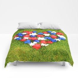 Paper heart Comforters