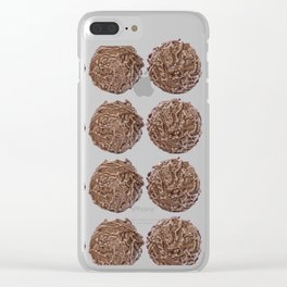 chocolate truffle #society6 #decor #buyart Clear iPhone Case