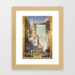 The Elven Refuge Framed Art Print
