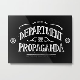 Department of Propaganda Metal Print