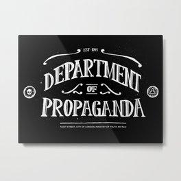 Department of Propaganda Metal Print