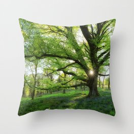 To Swing On The Tree Of Hope Throw Pillow