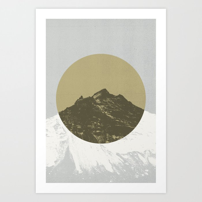 Lost Mountain Art Print