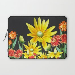 Bright At Midnight Floral Laptop Sleeve