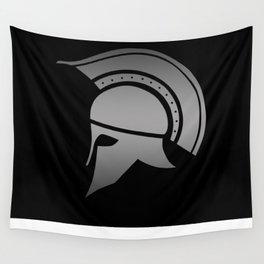 Ancient Greek Spartan Helmet Wall Tapestry