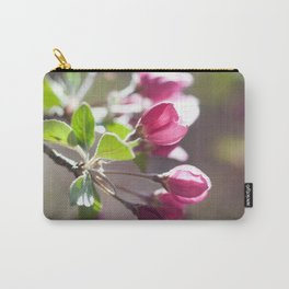 Pink Crabapple Buds Carry-All Pouch
