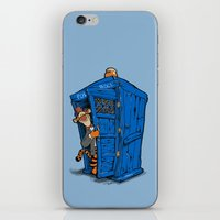 tigger iPhone & iPod Skins featuring It's B-I-Double g-ER on the Inside by cû3ik designs
