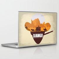django Laptop & iPad Skins featuring Django Unchained by TxzDesign