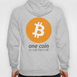 Bitcoin : one coin to rule them all Hoody