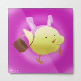 Easter Chick | Pip Metal Print